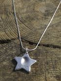 Star Fingerprint Pendant